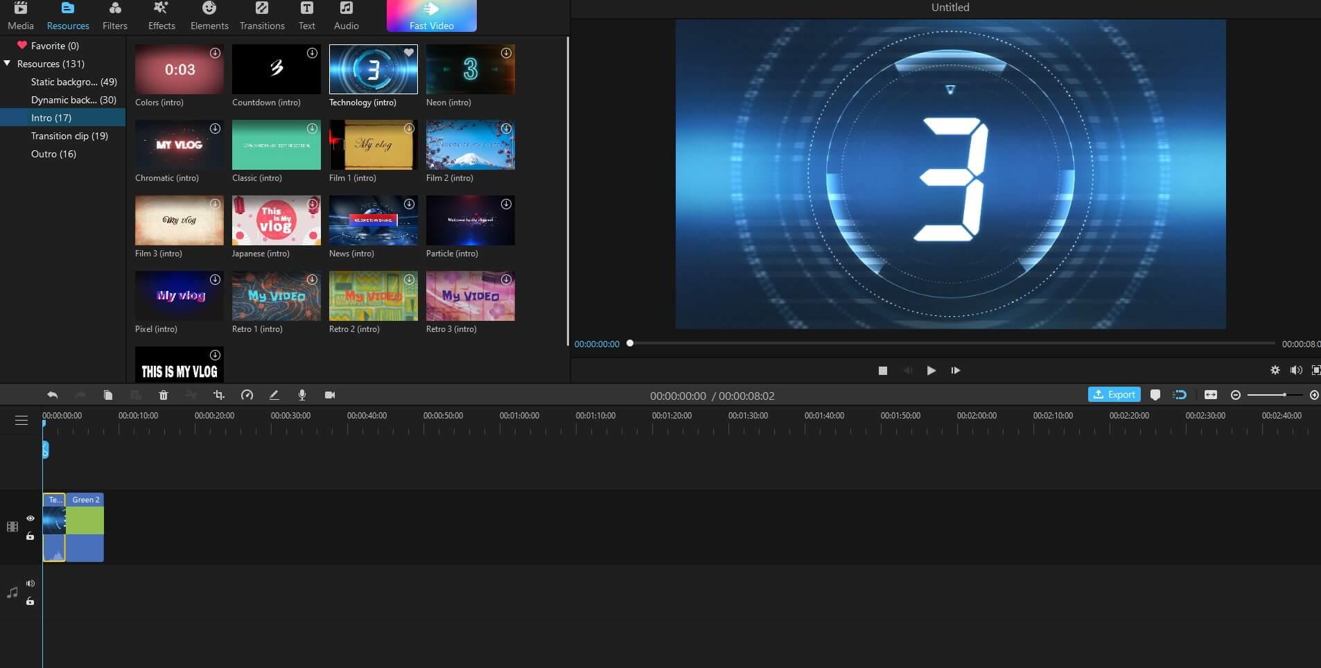 add short video