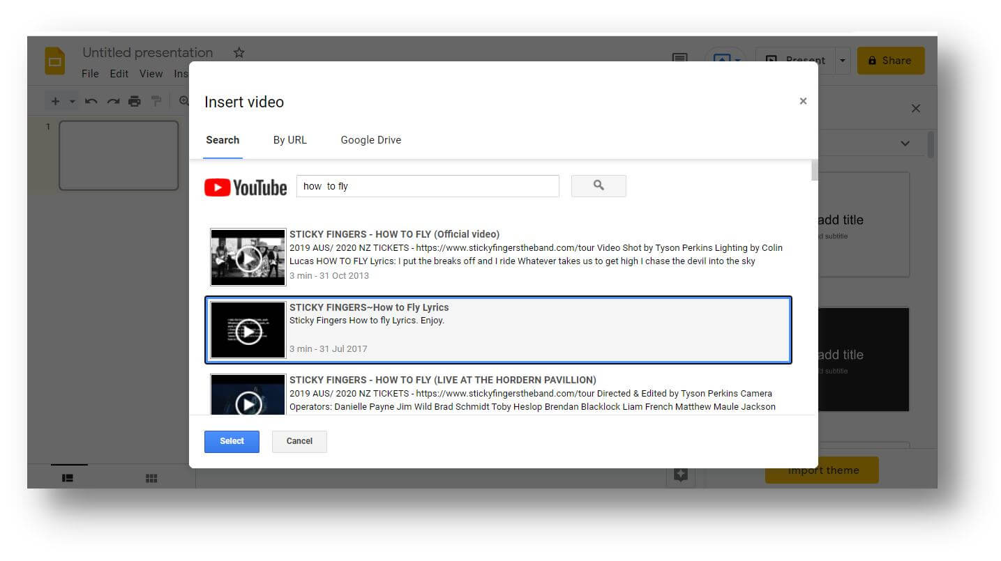 How to Add a Video to Google Slides