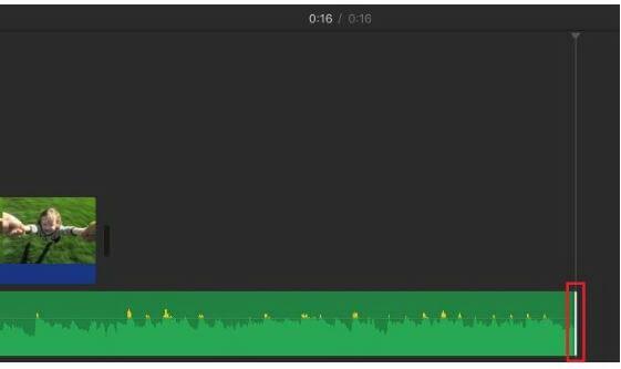 adjust audio track in imovie on mac