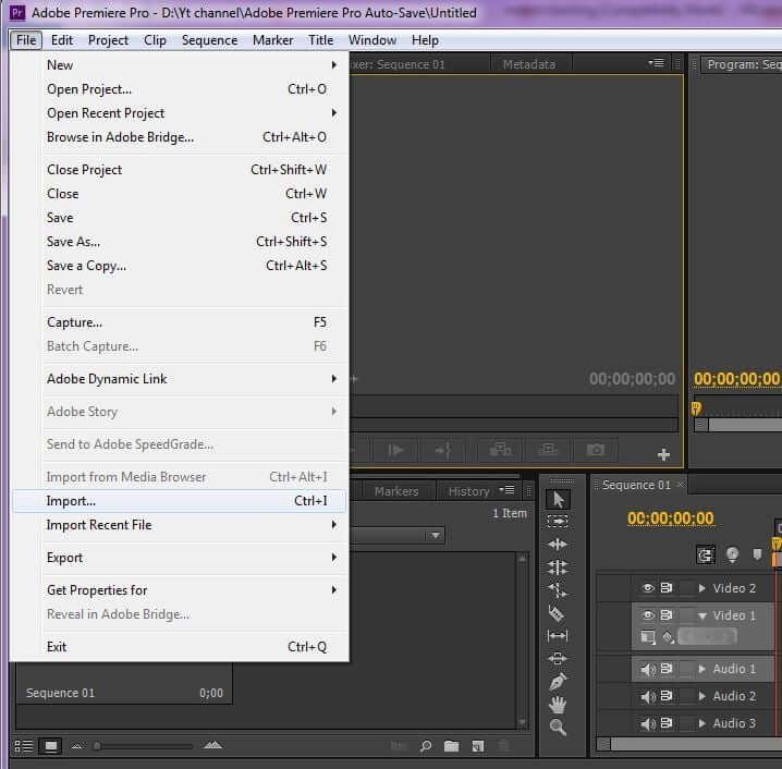 adobe-premier-import-a-video