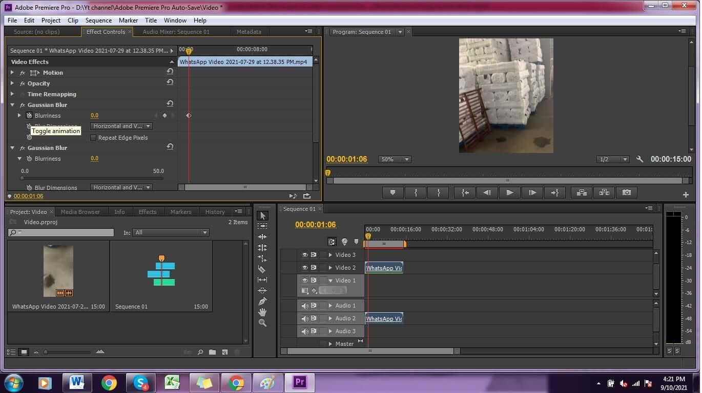 adobe-premier-pro-add-gaussian-blur-on-the-footage