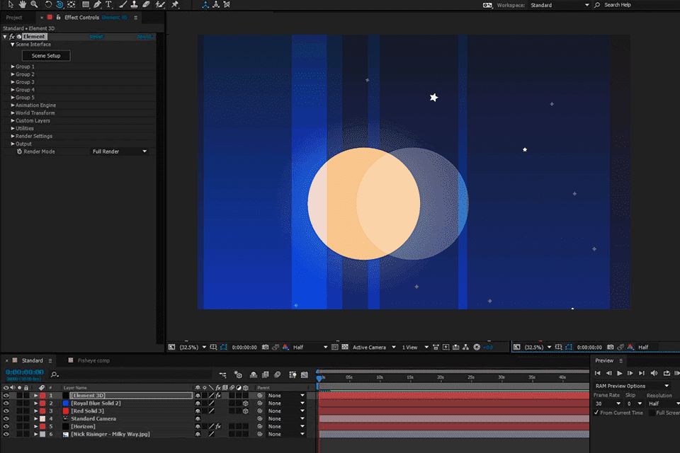 After effects 5.0