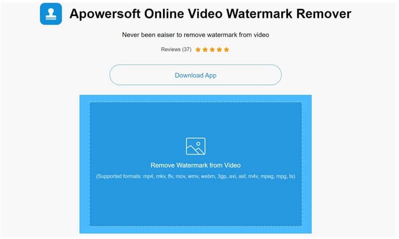 apowersoft online video watermark