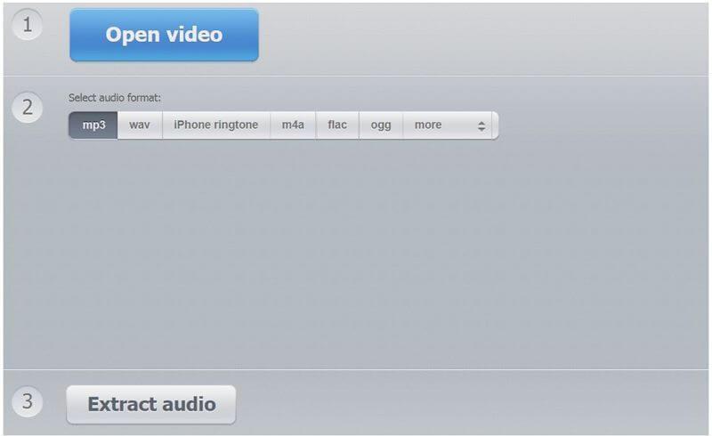 audio extractor online