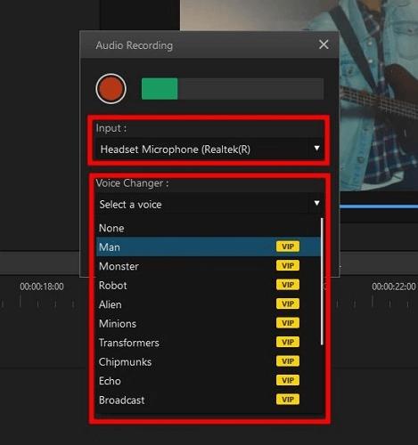 record audio on desktop with imyfone filme