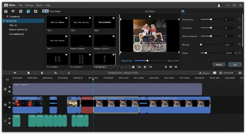 audio trimming imyfone filme