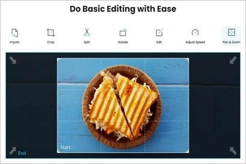 basic edit on video