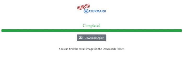 batch watermark download file