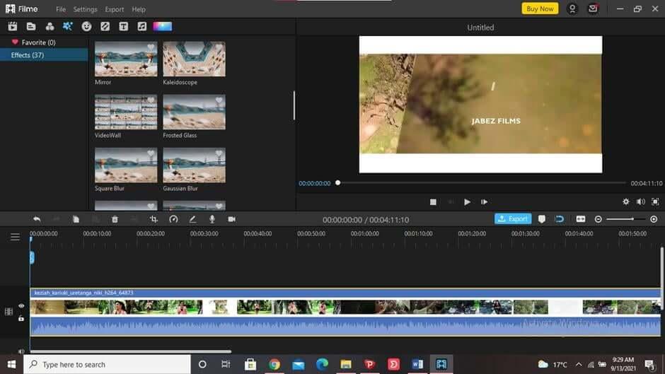 best-video-editor-to-blur-video-iMyFone-Filme-1