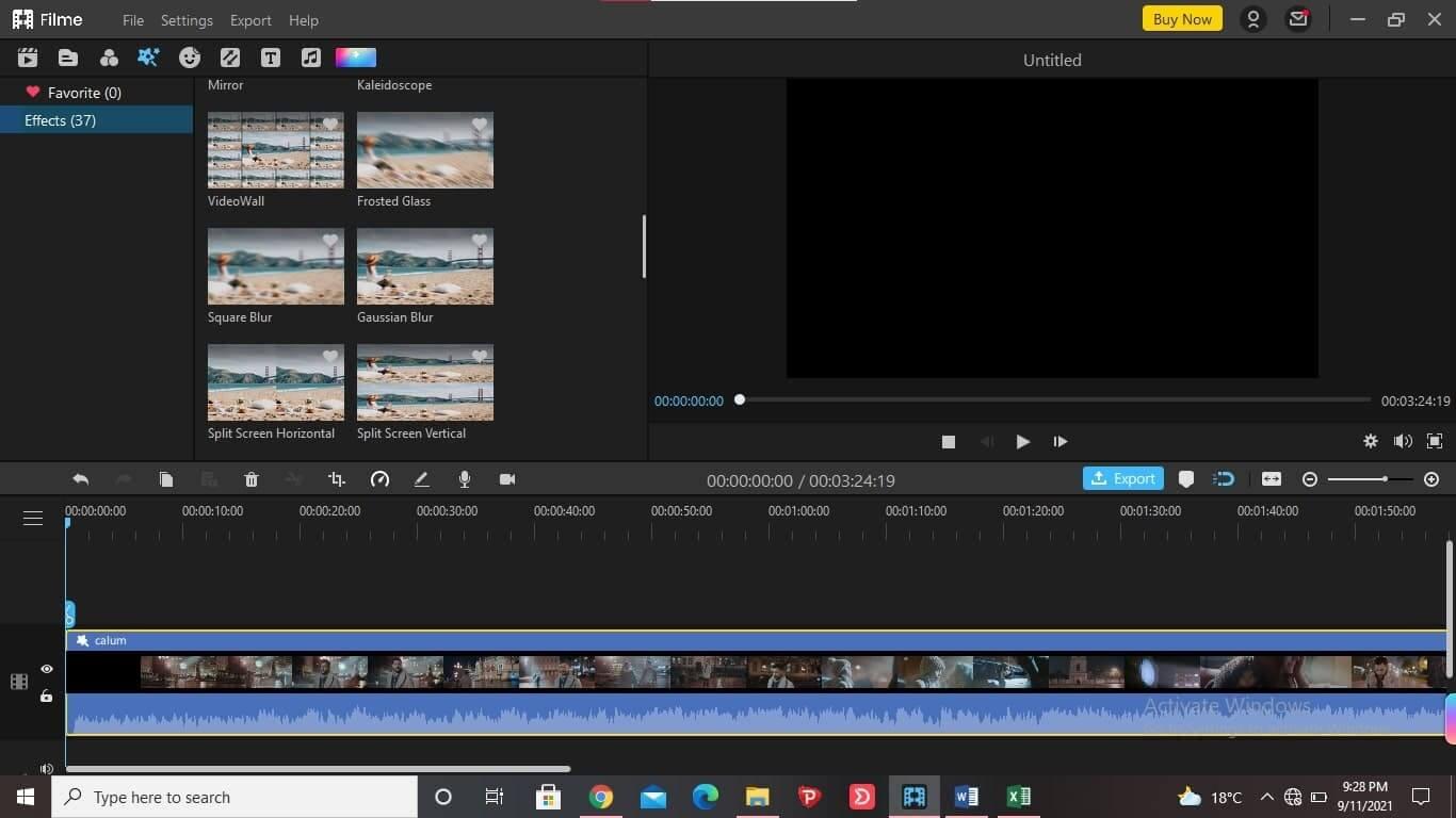 better-alternativ-than-filmora-for-motion-blur-iMyFone-Filme-1