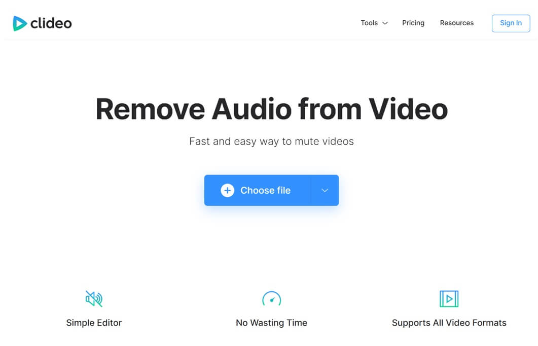 clideo-audio-removal-online