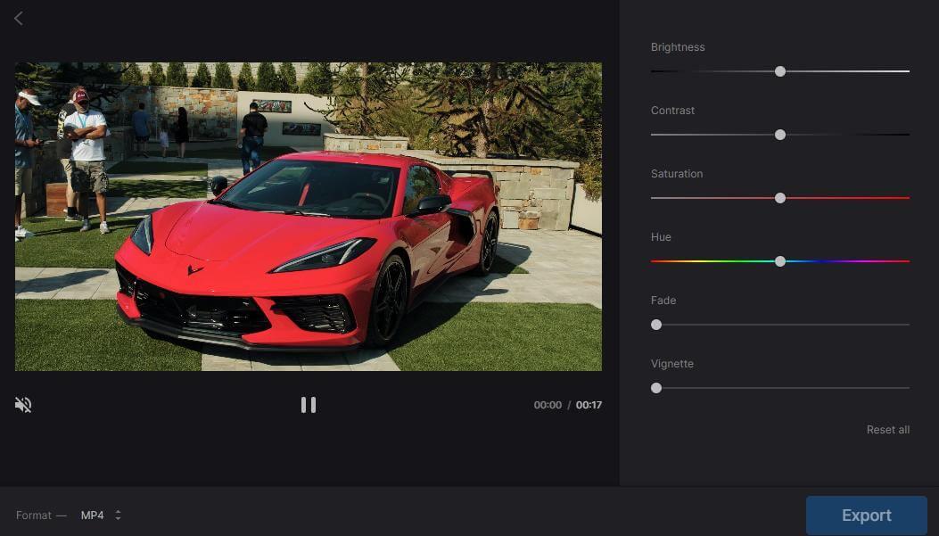 clideo export video