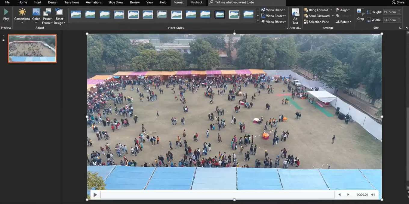 How to Compress Video in Powerpoint