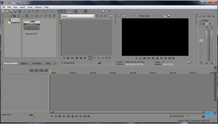 create-a-new-project-sony-vegas