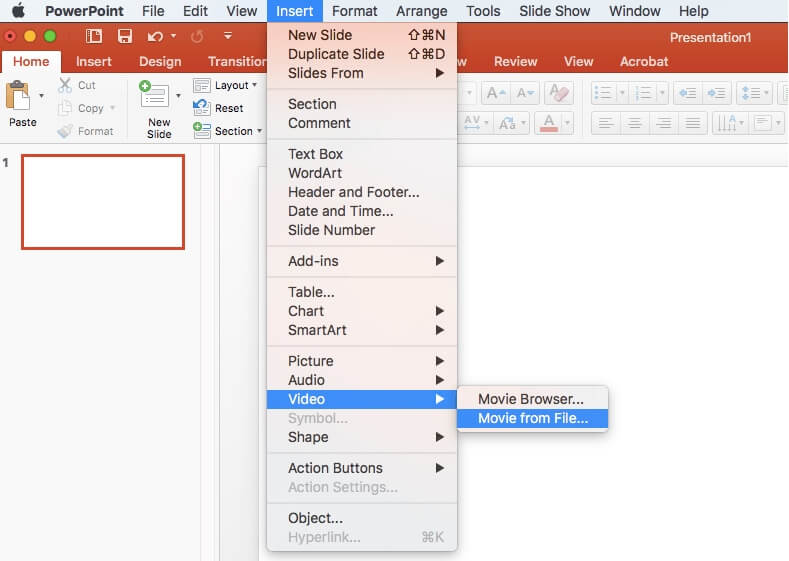 how to create a video in powerpoint