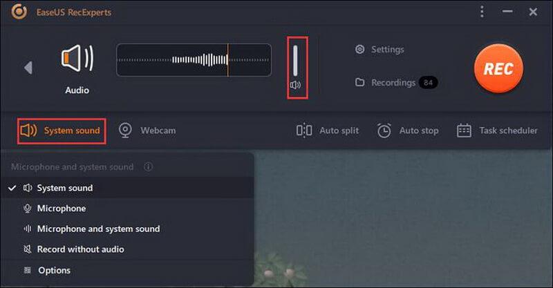 easeus recexperts streaming audio recorder