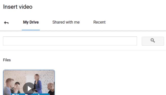 insert video of youtube