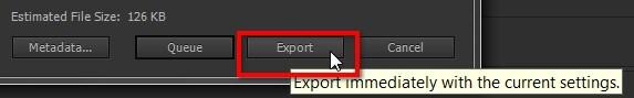 export your file premiere pro