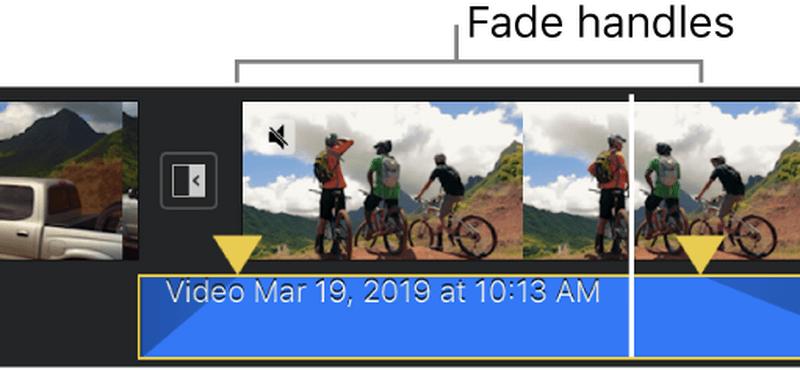 fade iMovie