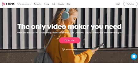 Promo:Facebook video creator