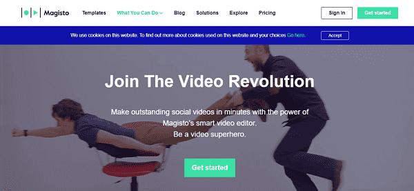 Magisto:Facebook video creator