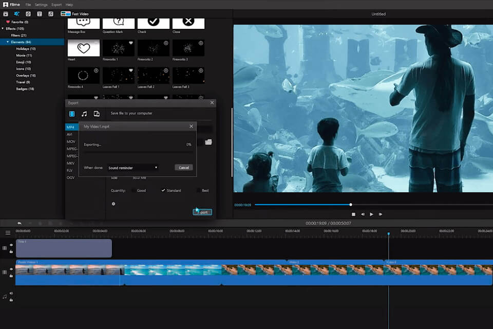 audio editing in davinci resolve alternative imyfone filme