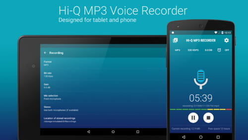 best high quality audio recording app android