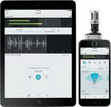 audio recording app iphone for shure digital microphones