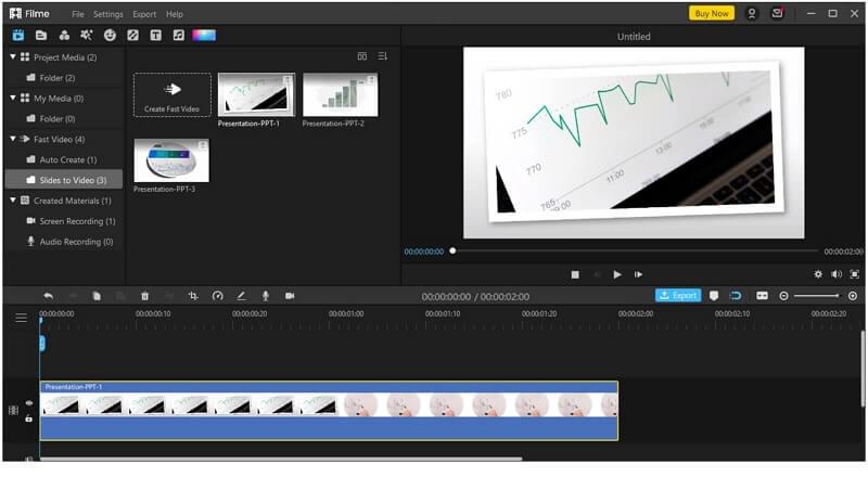 filme add video to timeline