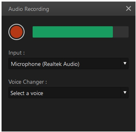 filme add voiceover