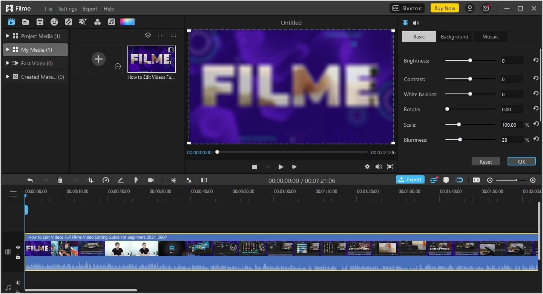 filme-blur-video