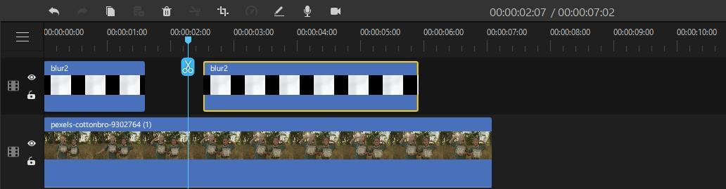 filme multiple blurred images