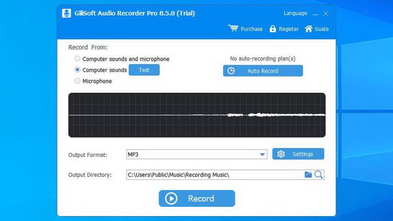 gilisoft streaming audio recorder
