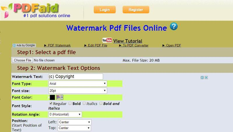 how-to-remove-Camscanner-watermark-using-PDFaid
