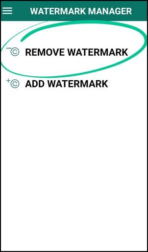 how to use remove and add watermark app