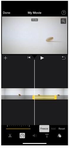 imovie frame duration