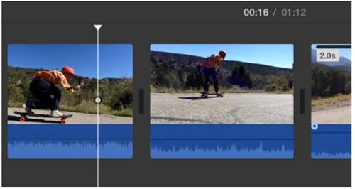 imovie select frame