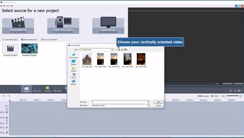 import video AVS