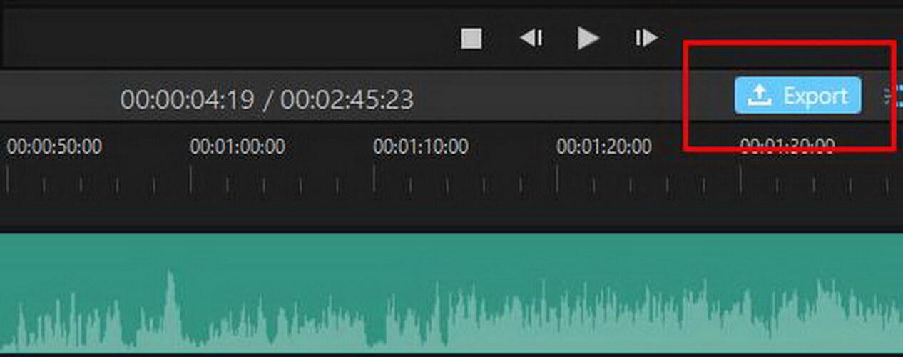 imyfone filme voice recording export
