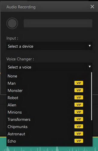 imyfone filme voice recording voice changer