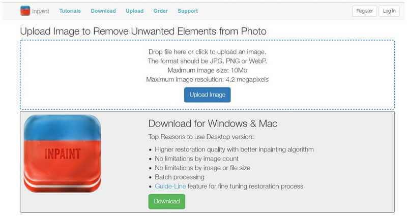 npaint remove canva watermark