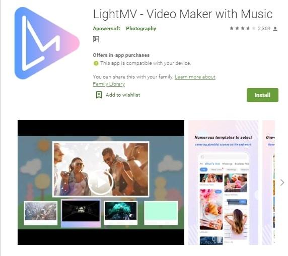 lightmv intro maker