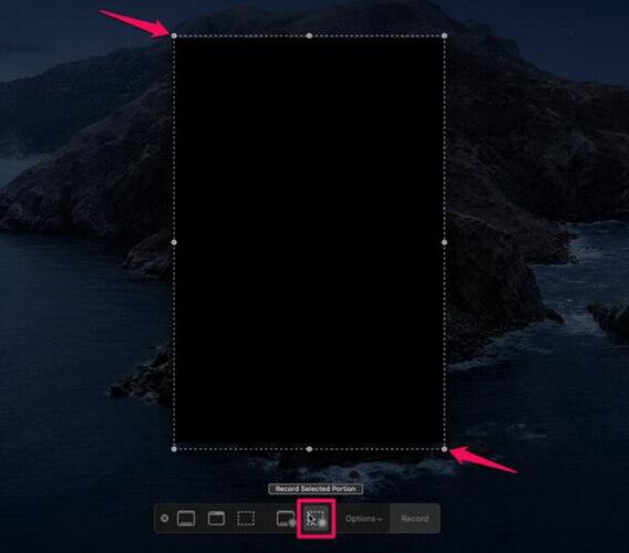mac screen recording screen size