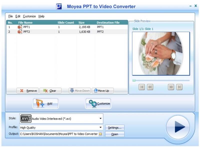 moyea convert your file