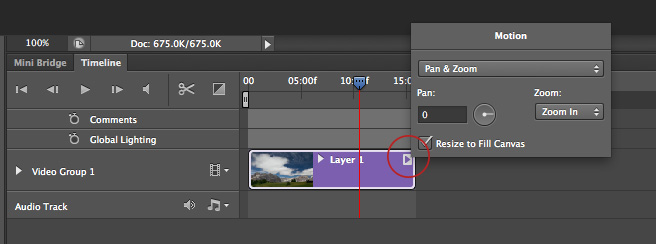 mute audio in photoshop cs6
