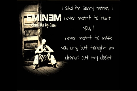 cleanin out my closet by eminem