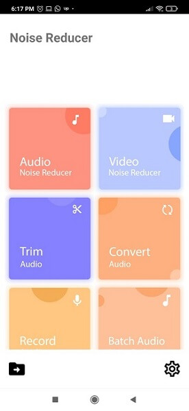 noise reducer app remove background noise