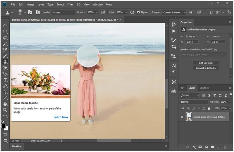 photoshop clone stamp tool