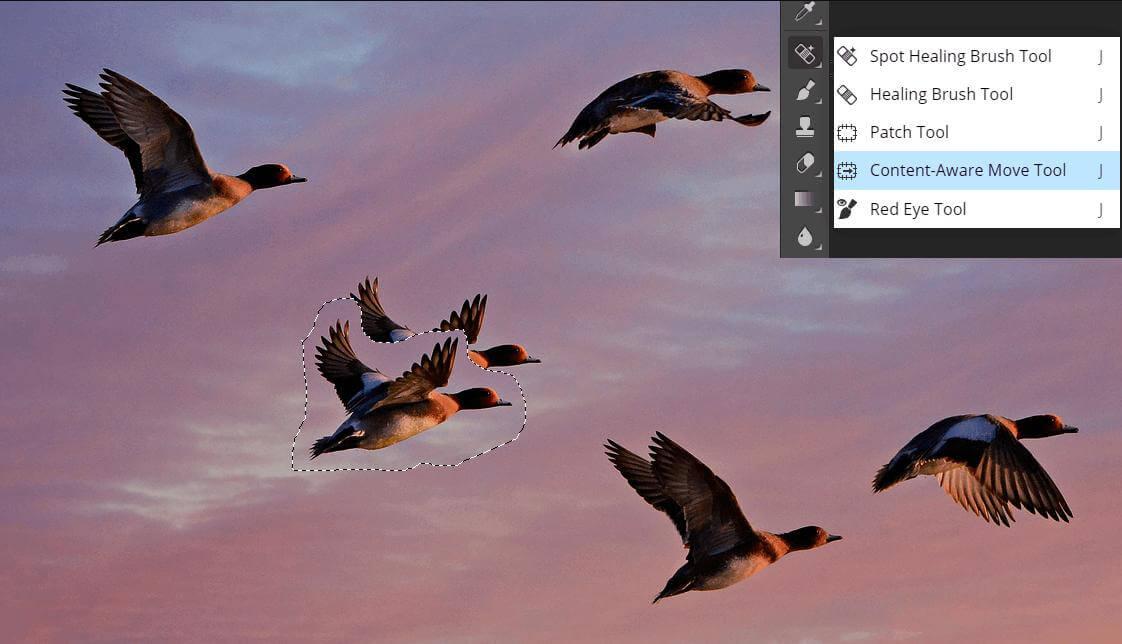 photoshop cs6 pc content aware move tool