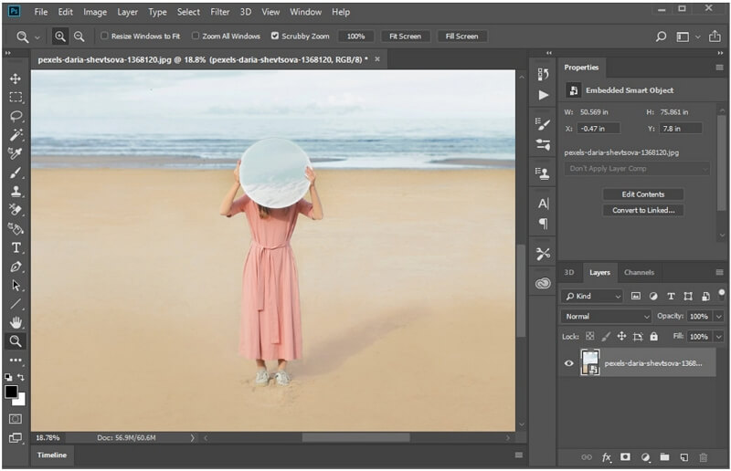 photoshop opacity and fill